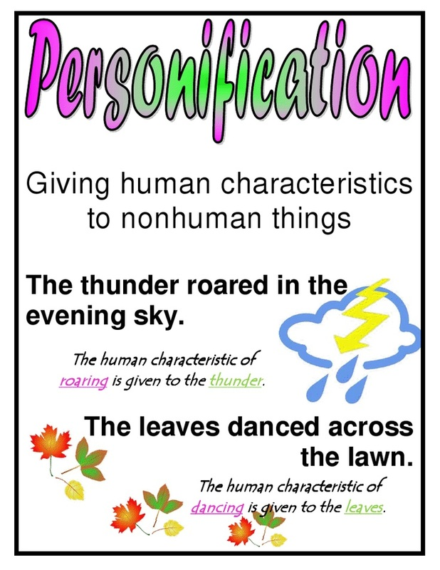 Personification – Personification Worksheets